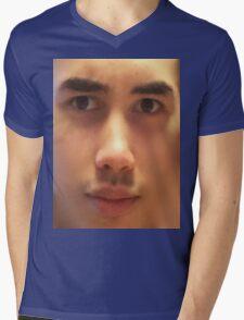 Sexy asian man Mens V-Neck T-Shirt