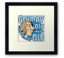 Grumpy Old Man's Club Framed Print