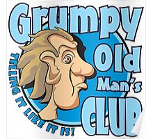 Grumpy Old Man's Club Poster