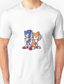 Classic Sonic and Tails Unisex T-Shirt