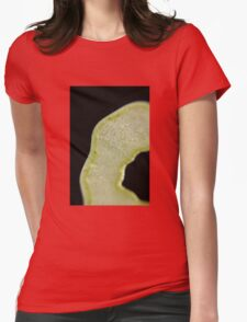 Apple Ring  Womens Fitted T-Shirt