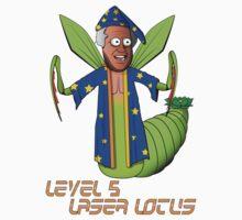 Level Five Laser Lotus Kids Tee