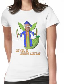 Level Five Laser Lotus Womens Fitted T-Shirt