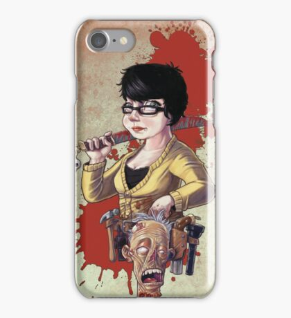It's Beginning To Look A Lot Like Zombies iPhone Case/Skin