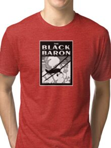 The Black Baron Tri-blend T-Shirt