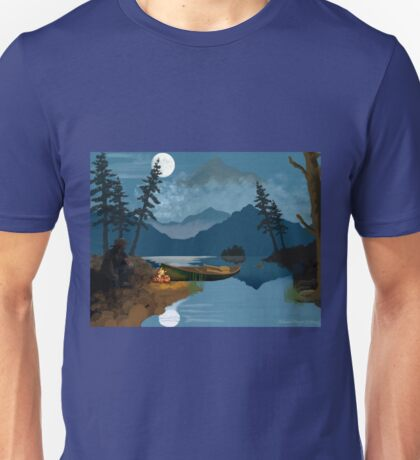 Cowboy in the Rocky Mountains Unisex T-Shirt