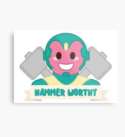 Hammer Worthy Metal Print