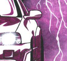 GTR Skyline r34 Purple Monochromativ Car Painting Sticker