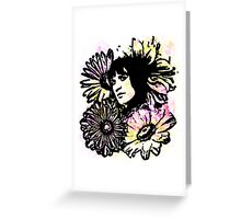 """Vince Precious Flower"" Greeting Card"