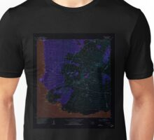 USGS TOPO Map Hawaii HI Makena 349564 1954 24000 Inverted Unisex T-Shirt