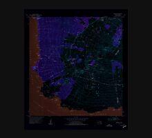 USGS TOPO Map Hawaii HI Makena 349564 1954 24000 Inverted Unisex T-Shirt