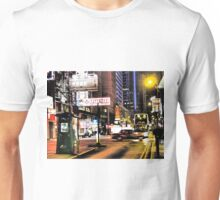 a blurry night in Hong Kong Unisex T-Shirt