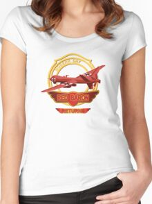 Red Baron Returns Women's Fitted Scoop T-Shirt