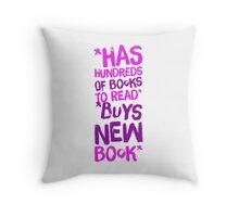 I have no impulse control Throw Pillow