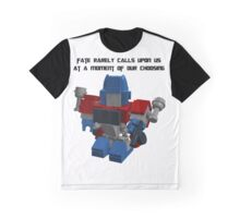 Optimus Prime Nano-Fig Fate Graphic T-Shirt