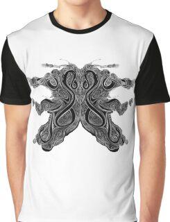 Carto Inkblot Graphic T-Shirt
