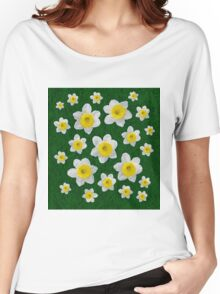 Spring Daffodils Women's Relaxed Fit T-Shirt
