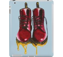 Surrealism Red Boots  iPad Case/Skin