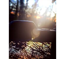 Nikon sunset Photographic Print