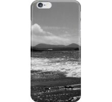 Irish Coast in Black and White iPhone Case/Skin