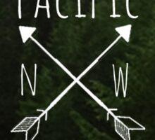 Pacific NW Oregon Sticker