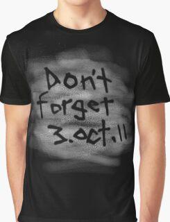 Don't Forget 3 Oct 11  - Fullmetal Alchemist Brotherhood Graphic T-Shirt