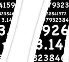 Pi Day Graphic Symbol Sticker