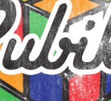 Rubik's Sticker