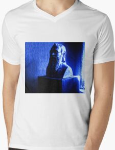 Professor Siegfried Plinth Mens V-Neck T-Shirt