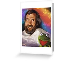 Pure Joy Avec Frog Greeting Card