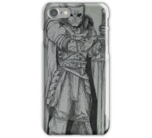 Monster Hunter Knight  iPhone Case/Skin