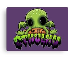 Creepies - My Pet Cthulhu Canvas Print