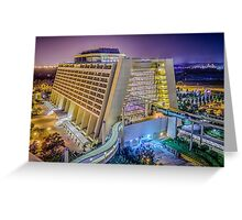 Contemporary Resort from Bay Lake Greeting Card