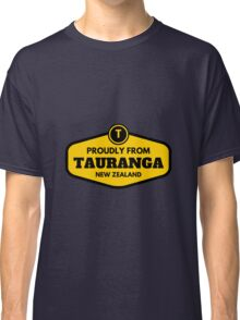Proudly From Tauranga New Zealand Classic T-Shirt