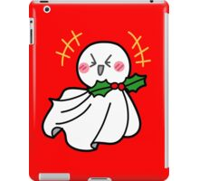 Cute Laughing Christmas Ghost iPad Case/Skin
