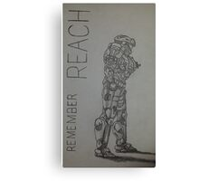 Remember Reach  Canvas Print