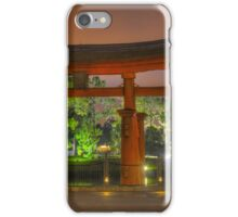 Japan Pavilion in EPCOT iPhone Case/Skin