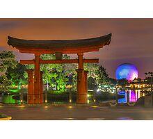 Japan Pavilion in EPCOT Photographic Print