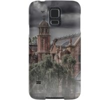 Halloween Haunted Mansion Fog Samsung Galaxy Case/Skin