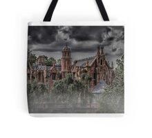 Halloween Haunted Mansion Fog Tote Bag