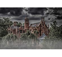 Halloween Haunted Mansion Fog Photographic Print
