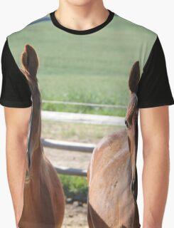Horse Friends  Graphic T-Shirt