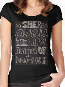 Coldplay Paradise Women's Fitted Scoop T-Shirt