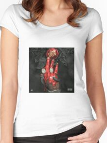 Slime Season 3- Young Thug Women's Fitted Scoop T-Shirt