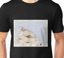 USGS TOPO Map Hawaii HI Hawaii North 349918 1954 250000 Unisex T-Shirt