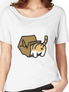 Cat in Paper Bag Women's Relaxed Fit T-Shirt