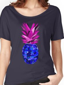 Pineapple Negative  Women's Relaxed Fit T-Shirt