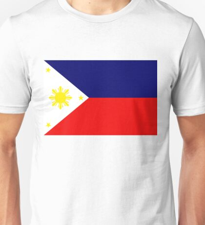Philippine National Flag Unisex T-Shirt
