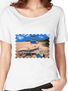 Banane am FKK Strand Women's Relaxed Fit T-Shirt