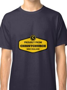 Proudly From Christchurch New Zealand Classic T-Shirt